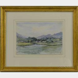 Edward Clarke Cabot (American, 1818-1901)      Skelwith Bridge