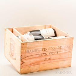 Faiveley Chambertin Clos de Beze 2006, 6 bottles (owc)