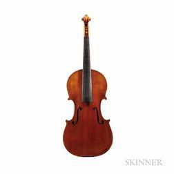 American Violin, Edmund Rochelle, Wilmington, 1981