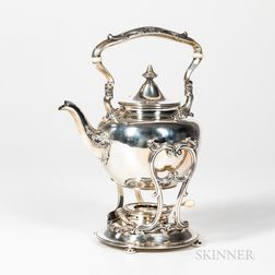 Gorham Sterling Silver Tea Kettle on Stand