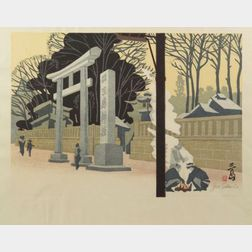 Sekino Jun'ichiro: Entrance to a Shrine