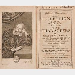 Wotton, Sir Henry, (1568-1639)