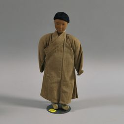Door of Hope Mission Buddhist Priest Doll