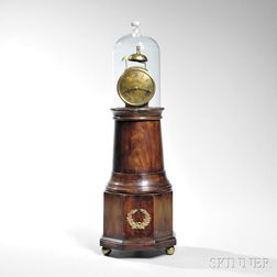 "Reproduction Willard Patent Alarm Timepiece or ""Lighthouse"" Clock"