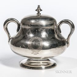 French .950 Silver Covered Sugar