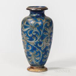 Martin Brothers Glazed Stoneware Vase
