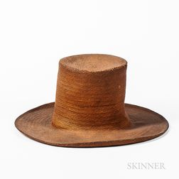 Finely Woven Straw Hat