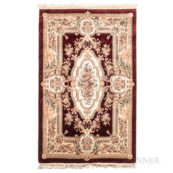 Small Carpet with French Design