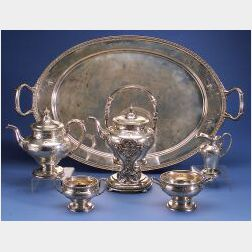 Gorham Classical Revival Six Piece Tea and Coffee Service