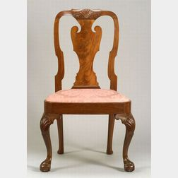 Chippendale Mahogany Carved Sidechair