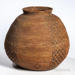 Apache Coiled Storage Basket