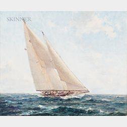 Lars Thorsen (Norwegian/American, 1876-1952)      Yacht