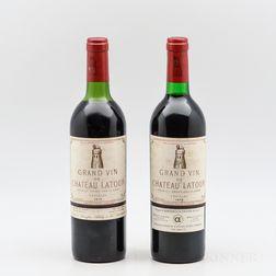 Chateau Latour 1976, 2 bottles