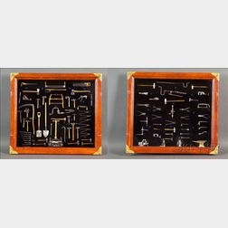 Exhibition-Standard Collection of Ninety-eight Working Miniature Tools