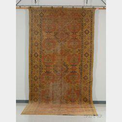 Ushak Corridor Carpet