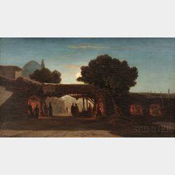 Alberto Pasini (Italian, 1826-1899)      Le Soir sous la Tente   [Evening Under the Tent]
