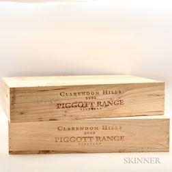 Clarendon Hills Piggott Range 2002, 12 bottles (2 x owc)