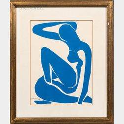 After Henri Matisse (French, 1869-1954)      Blue Nude