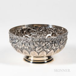 Schofield Co. Baltimore Rose Pattern Sterling Silver Bowl