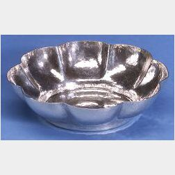 Whiting Manufacturing Co. Hammered Sterling Bowl and Spoon