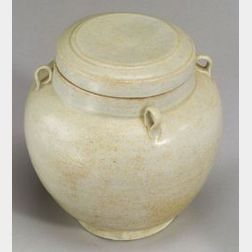 Ovoid Jar and Cover