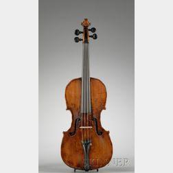 German Violin, Seidel School, c. 1780