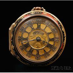 Benjamin Ingram Gold Pair Cased Watch