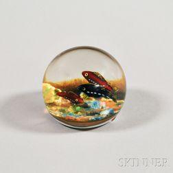 Paul Ysart (1904-1991) Art Glass Fish Paperweight