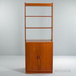 Thomas Webb Bookcase with Cabinet