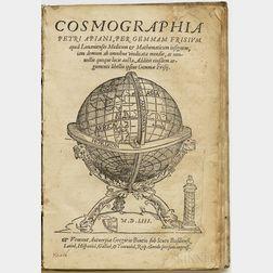 Apianus, Petrus (1495-1552) Cosmographia.