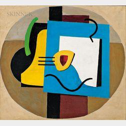 George L.K. Morris (American, 1905-1975)      Composition