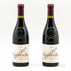 Domaine de la Vieille Julienne Chateauneuf du Pape Reserve 2000, 2 bottles