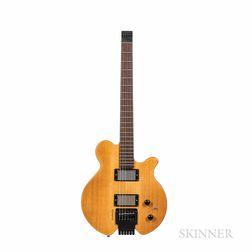 John Abercrombie   Soulezza Signature Model Headless Electric Guitar, c. 2015