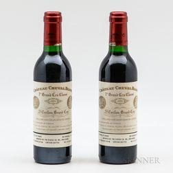 Chateau Cheval Blanc 1995, 2 demi bottles