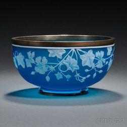 Thomas Webb & Sons Cameo Glass Bowl
