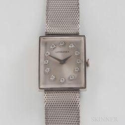 Longines 14kt White Gold Wristwatch