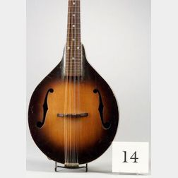 American Mandolin, Gibson Incorporated, c. 1935, Model A-40