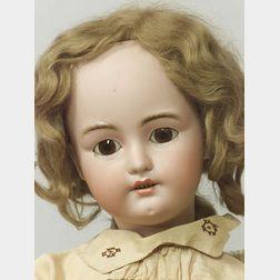Large Simon & Halbig 1078 Bisque Head Doll