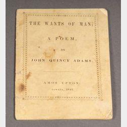 Adams, John Quincy, (1767-1848)