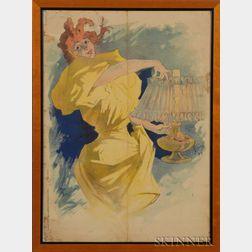 Jules Chéret (French, 1836-1932)      Poster for Saxoleine