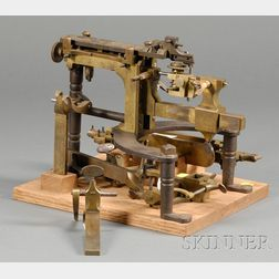 Brass and Steel Machine-a-Roboter