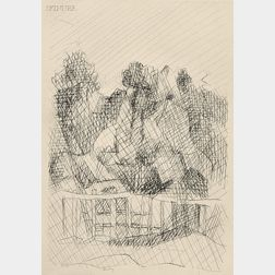 Jacques Villon (French, 1875-1963)      Untitled.