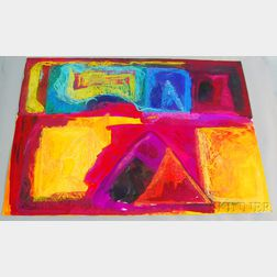 Michael Phillips (American, b. 1937)      Suite of Nine Abstract Works