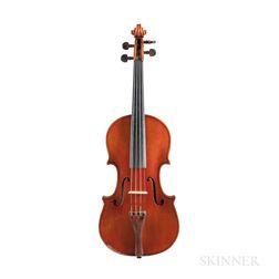 Italian Violin, Genuzio Carletti, Pieve di Cento, 1950
