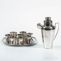 Newburyport Silver Co. Sterling Silver Cocktail Service