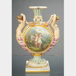 Wedgwood Queen's Ware Mermaid Vase