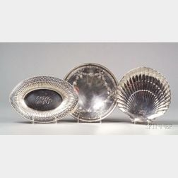 Three American Sterling Serving Dishes