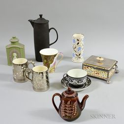 Ten Wedgwood Ceramic Items