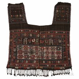 Shahsavan Saddle Blanket