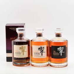 Hibiki, 4 750ml bottles (oc)